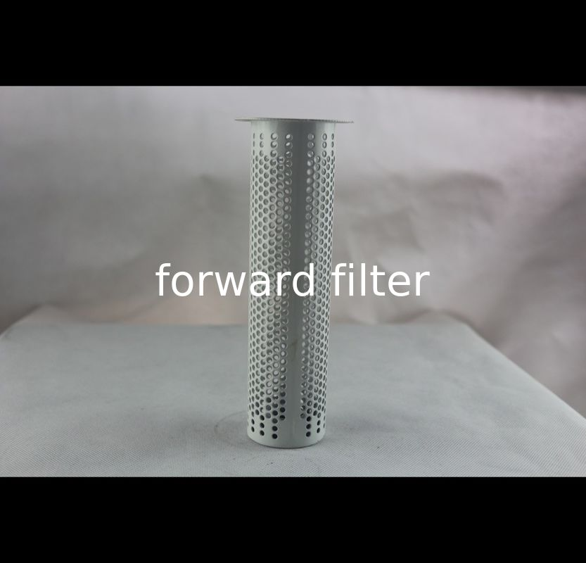 Grinding Coating Perforated Metal Tube , Custom Length Perforated Steel Tube