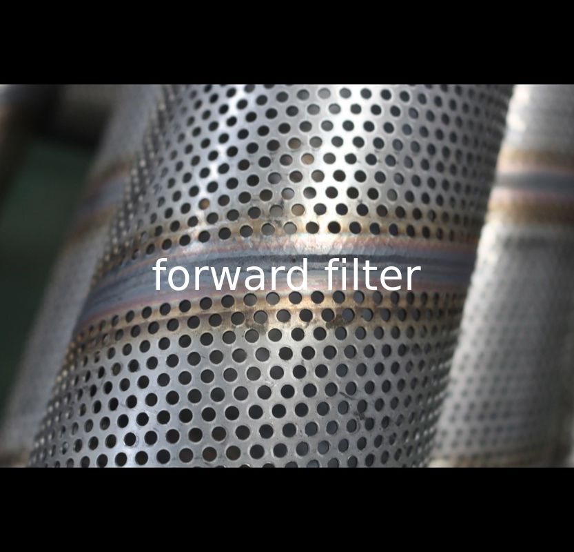 Cylinder Perforated Stainless Steel Tube , 201 316L Perforated Stainless Pipe
