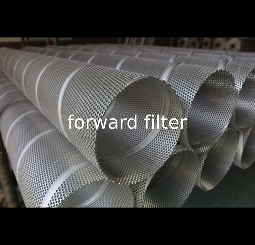 10mm-1000mm Perforated Metal Cylinder , Customized Layer Perforated Stainless Tube
